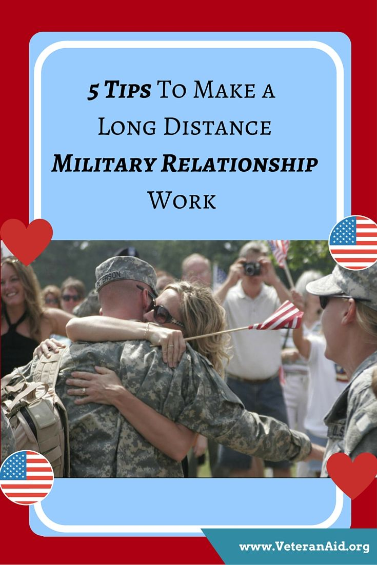 Dating long distance military