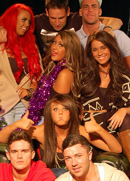 Geordie Shore.   I watch it. I love it. Judge away...haha my words exactly!<3