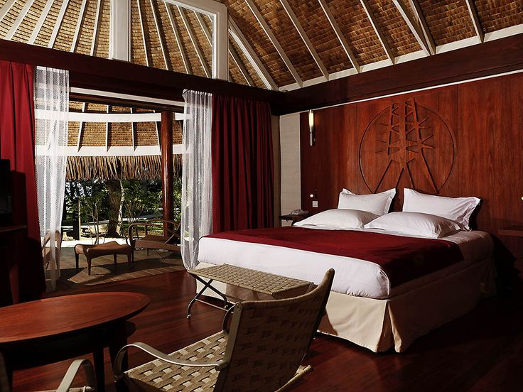 Situated on a private white sand beach, on the edge of one of the most beautiful lagoons in the world, Sofitel Bora Bora Marara Beach Resort Hotel elegantly harmonizes undressed wood with contemporary style, offering an authentic and colourful Polynesian atmosphere. Just two minutes by private shuttle, the Sofitel Bora Bora private island invites you into the heart of wild and preserved nature. A unique botanical garden with a 360° panoramic view of Bora Bora's lagoon and a luxurious suns...