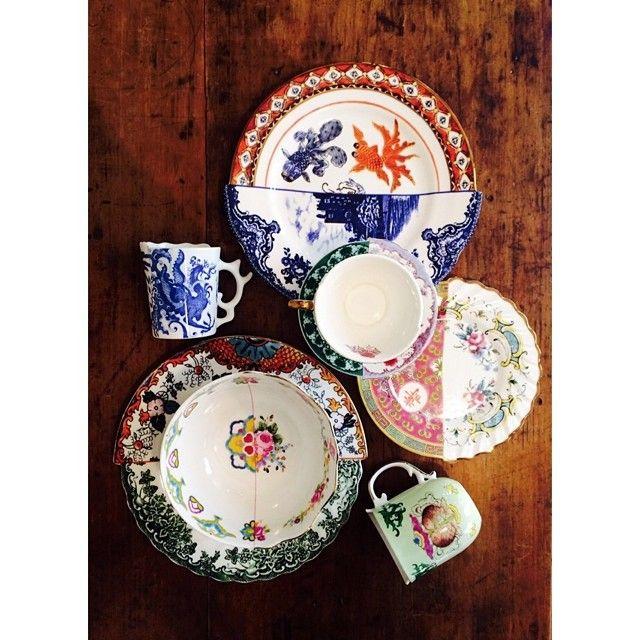 L' art de la table By Seletti. Linea HYBRID. Seletti è uno dei Brand di Design che potete trovare da Prime Home Bologna.