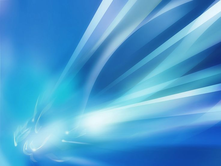 Blue crystal lines abstract