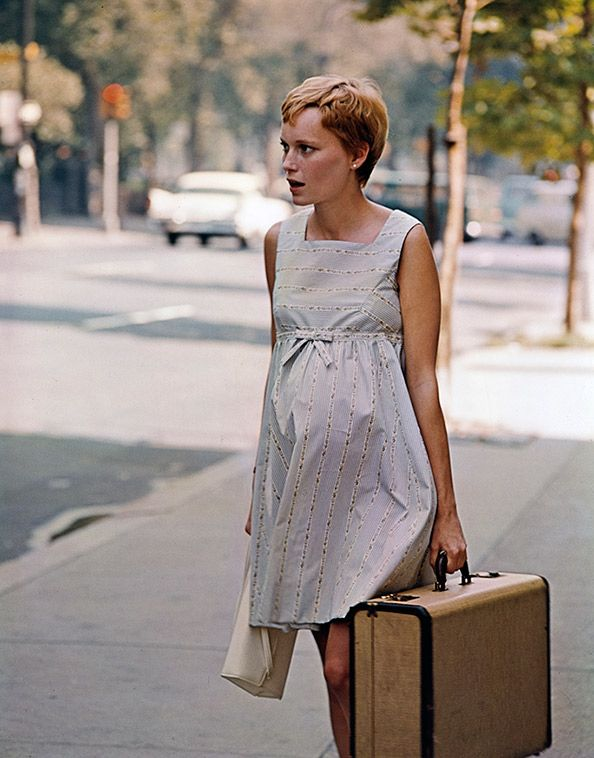 the60sbazaar: Mia Farrow in Rosemary's Baby