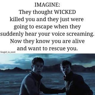 Here are some Newt (maze runner) imagines in order of occurrence.