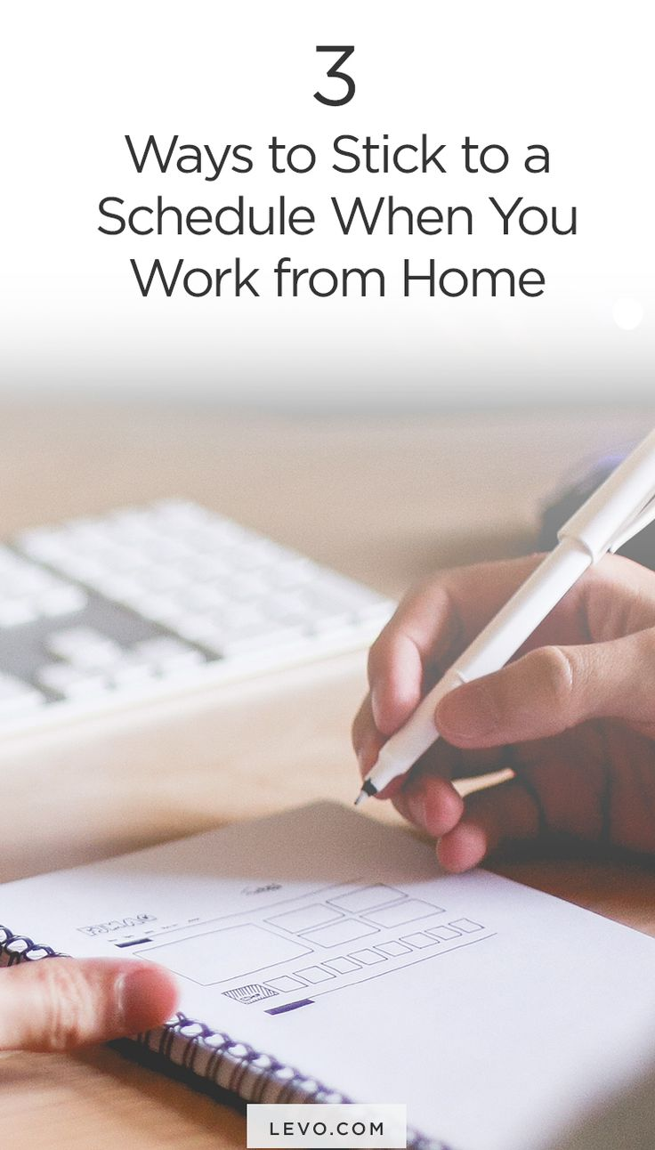 Three strategies that *work* when you're working from home. www.levo.com