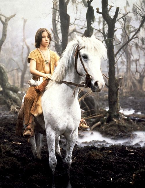 Neverending Story. This is one of the saddest scenes ever...well, that's what it felt like when I was 12!!!