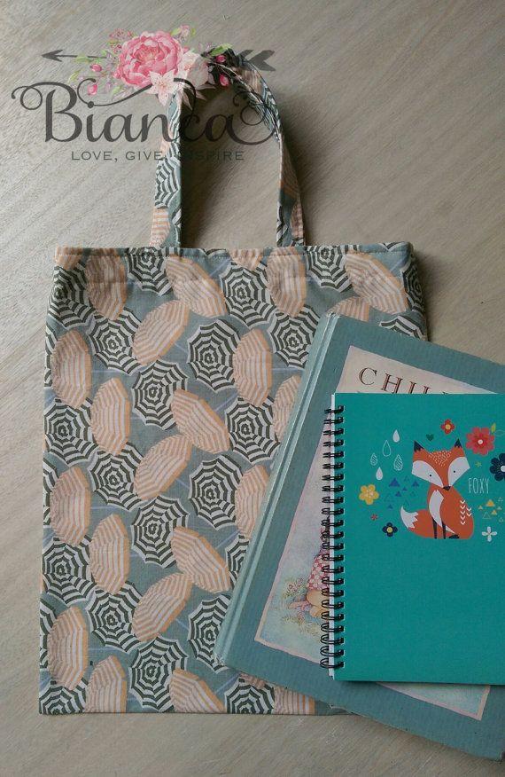 Umbrella library bag   https://www.etsy.com/au/listing/247637435/library-bag-book-bag-fabric-tote-tote