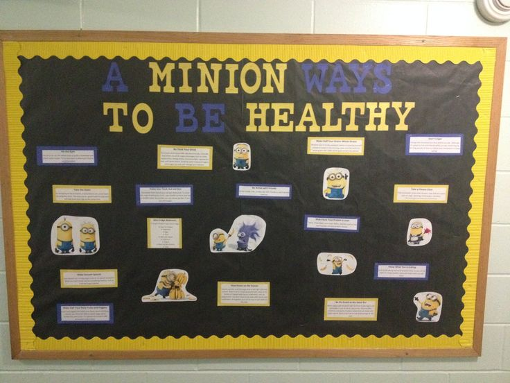 A minion ways to be healthy.  How to stay healthy in college with a bust schedule