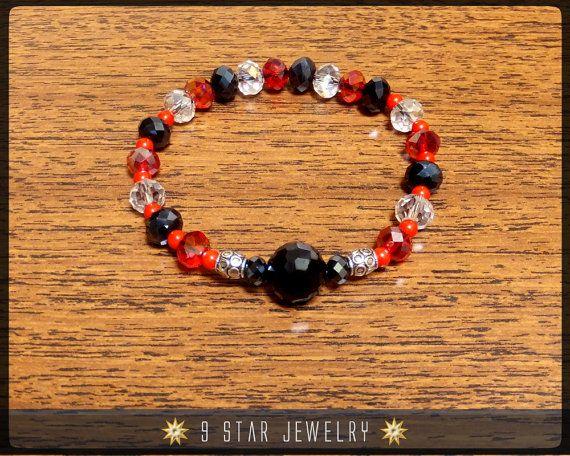 Baha'i Prayer Beads Crystal Bracelet  1+19  (Alláh-u-Abhá)  by 9StarJewelry on Etsy #bahai #bahaijewelry #9starjewelry