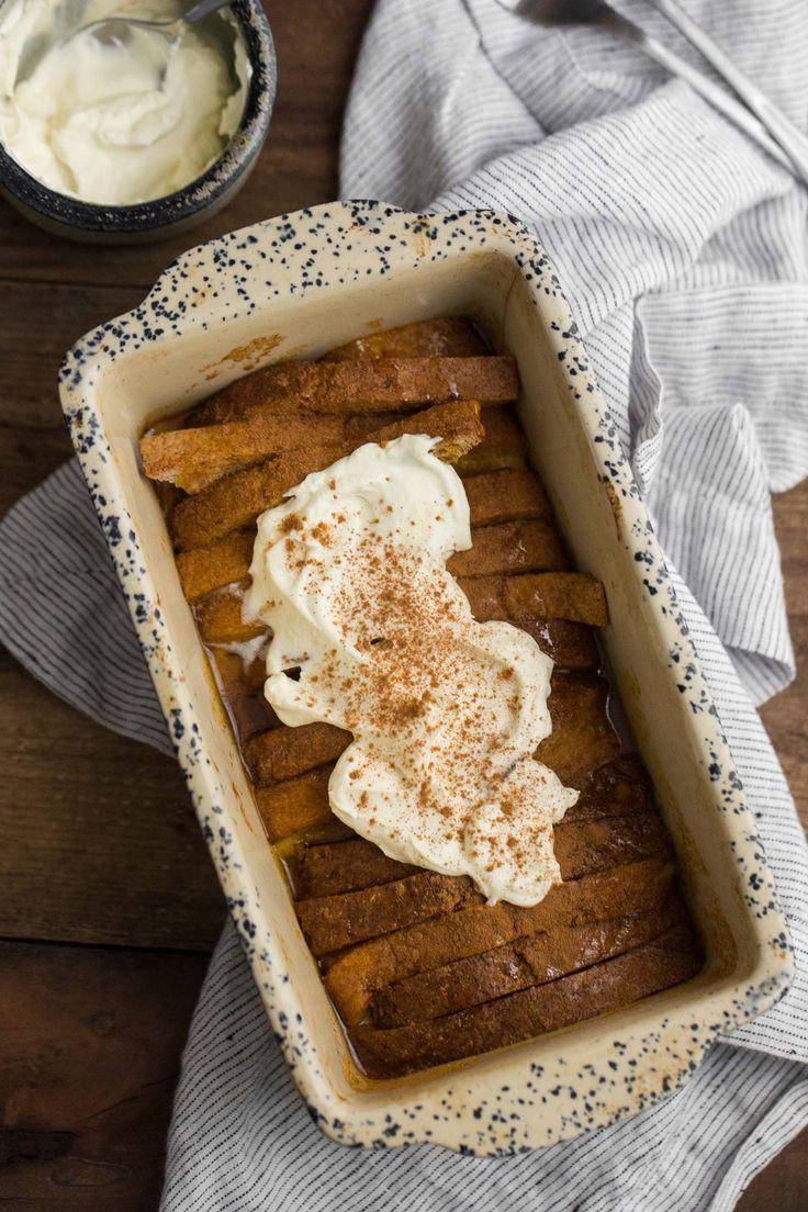 Gebackener Kürbis Französisch Toast |  @naturallyella