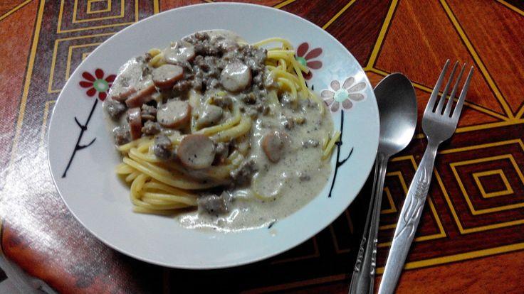 Azwar Syuhada: Resepi Spaghetti Carbonara yang Lazat dan Mudah