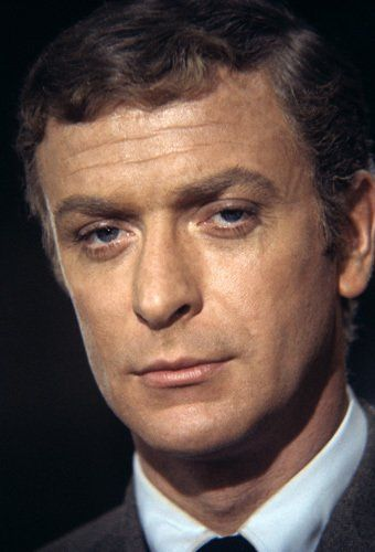 oh, young Michael Caine...Sometimes even, oh, older Michael Caine