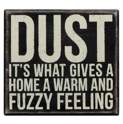 Dust Box Sign - LOL