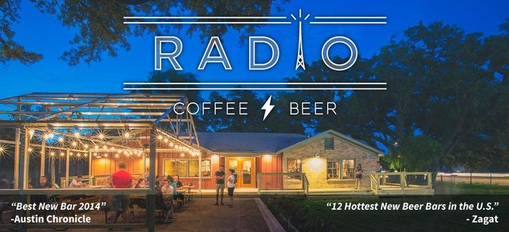 Radio Coffee & Beer: best coffees in the world and maintains a focus on building relationships with farmers. And along with beans, they've also got beers, plus finger-lickin' good tacos, courtesy of the Veracruz All-Natural trailer parked outside