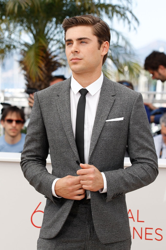 Not a big fan of Zack Efron but he pulls of a suit well