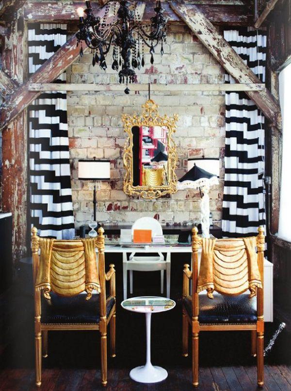 Calm Whoopi Goldbergs Loft: Creative Home Office Design Ideas Picture