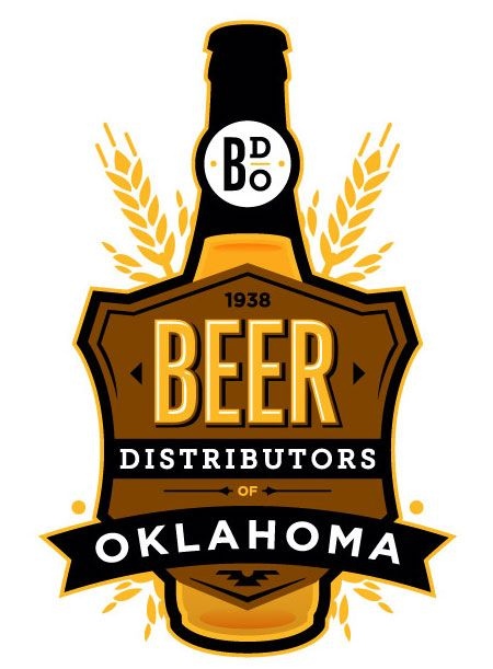 Beer Distributors of Oklahoma logo  by Funnel Design Group