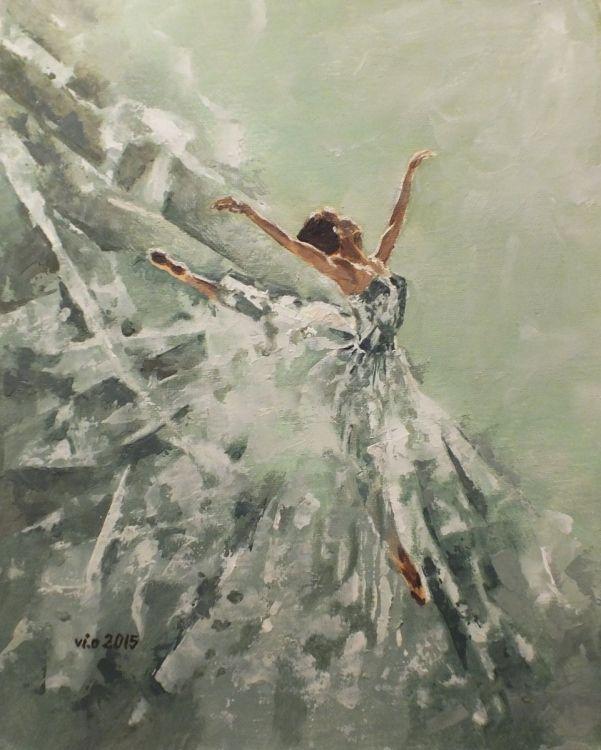 Wings (2015) Oil painting by Violeta Oprea | Artfinder
