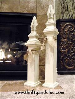 small fireplace decor