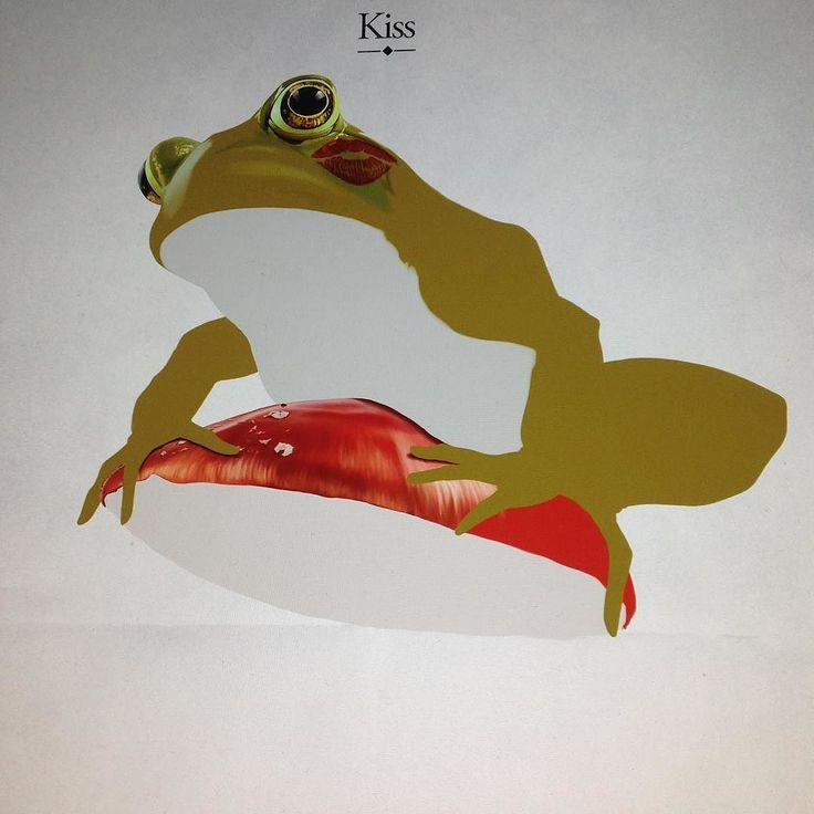 "Doing some more to ""Kiss"" #frog #wip #digitalart #robart #instaart #instaartist #animalart #wacom #kiss instagram | art | ideas | follow"