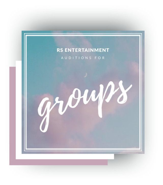 GROUP AUDITION FORM - audition form