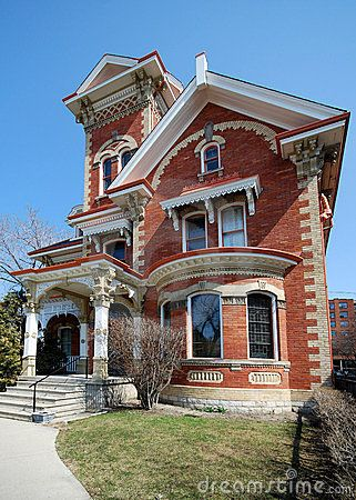 Ornate Victorian House