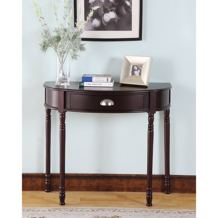 17 best ideas about half moon console table on pinterest entrance table decor entry mirror - Half table entryway ...