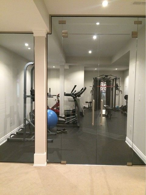 """We were pleased to have receive a review from a happy client who had installed our Dinoflex Sport Mat flooring """"We purchased Dinoflex Interlocking Rubber Flooring for our home gym from Total Sports Solutions. It's a Canadian product and doesn't have the odour that a lot of other rubber flooring typically has, which was a huge selling point for me. We received great service from Ian and his team and the product looks great in our gym!"""". #Dinoflex #SportMat #MadeFlatStaysFlat…"""