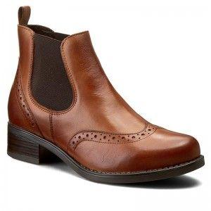 Kotníková obuv s elastickým prvkem LASOCKI - VECTRA-01 Hnědá