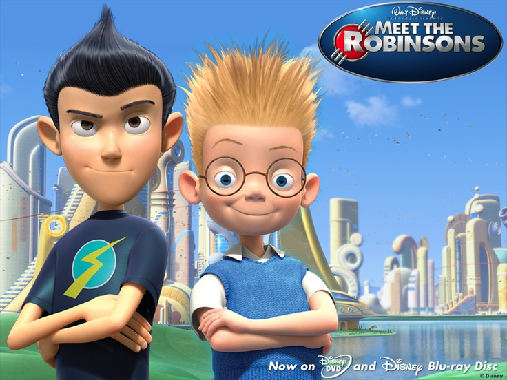 sarah and jack meet the robinsons