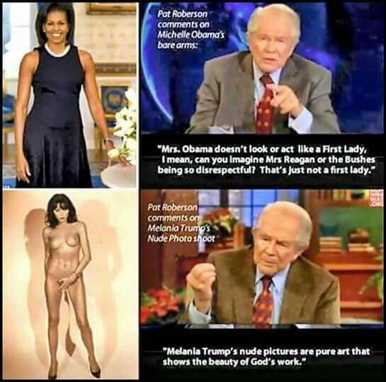Double Standard. #Michelle Obama #Melana Trump