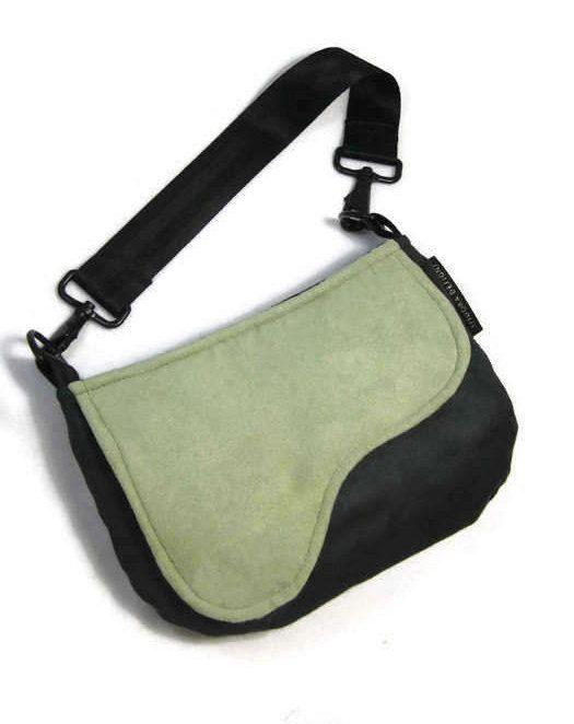 Saddle Shoulder Bag, Shoulder Purse, Olive Green Shoulder Bag, Equestrian Bag, Olive Green,  Army Green, Pantone 2017, RTS by IsidoraDesigns on Etsy