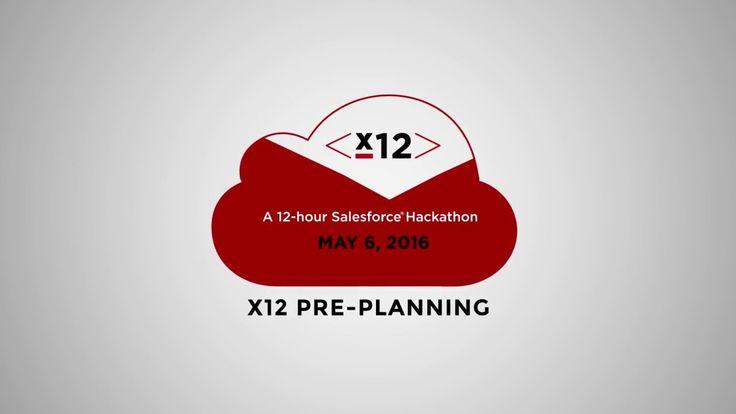 x12 for Salesforce®   A 12-Hour Build Marathon – Planning Session http://x12.extentia.com/