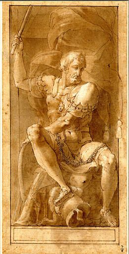 """Francis I of France"" by Francesco Primaticcio. 16th century. https://hemmahoshilde.wordpress.com/2015/05/13/sneak-peak-francis-i-12-september-1494-31-march-1547/ <------ You are welcome to read more about this drawing and other drawings of Francis I of France on my art blog :)."