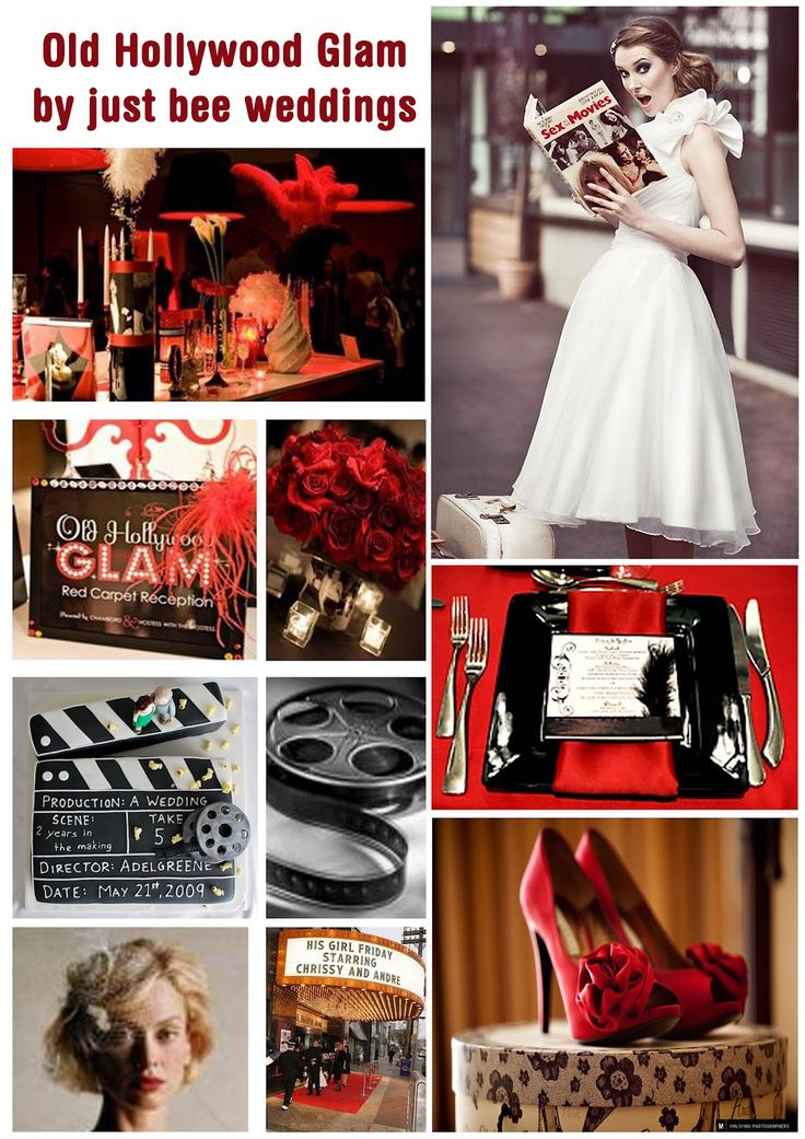 Just Bee Fashion: Old Hollywood Glam Inspired Wedding