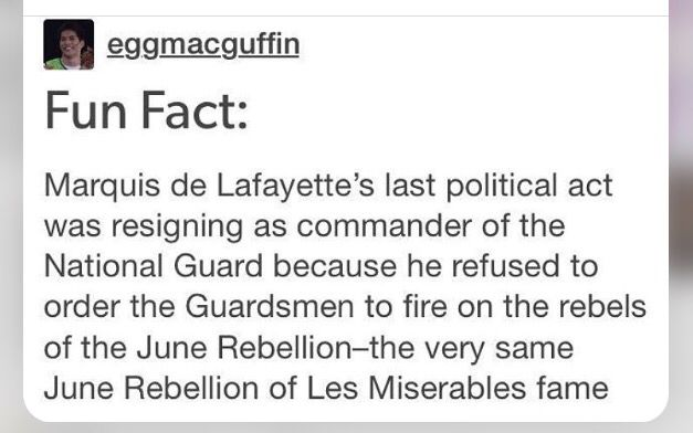 And that's why Hamilton opened next door to Les Mis on Broadway.