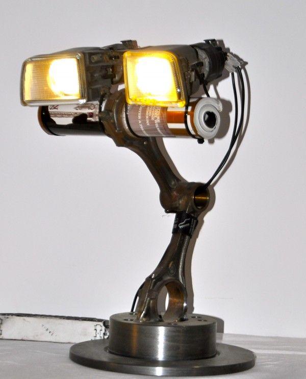 Recyc-led/lightbulb lamps
