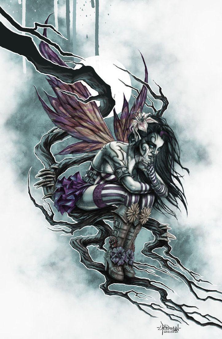 ... Dark Tattoo S Dark Art Gothic Fairies Faerie Gothic Fairy Tattoo