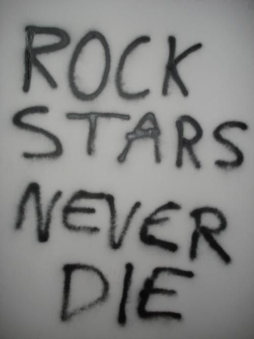 ~rock stars never die . . . ever~