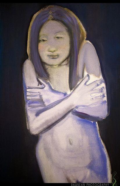 Cold Woman (Detail), Marlene Dumas