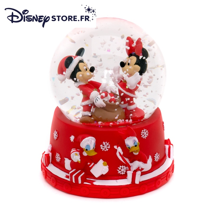 Boule à neige MICKEY ET MINNIE MOUSE - Créez votre board « Liste Magique de Noël Disney », épinglez-y 20 produits maximum qui viennent de notre board « Liste Magique de Noël Disney ». Chaque jour un « cadeau du jour » est à gagner par tirage au sort. Le 21 Décembre, celui qui aura le plus de like sur son board « Liste Magique de Noël Disney » gagnera la totalité de son board. - www.disney-televi... -  #NoelDisney