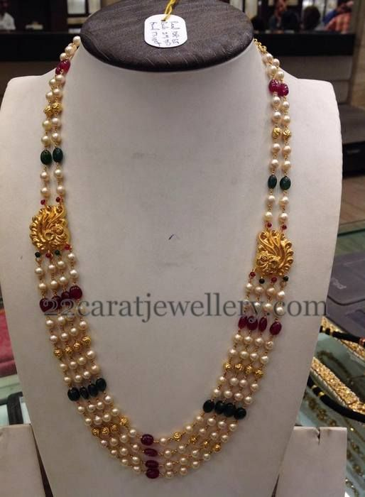 Simple Beads Chain 24 Grams | Jewellery Designs