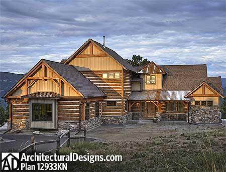 Plan 12933kn Dream Mountain Home Plan House Plans