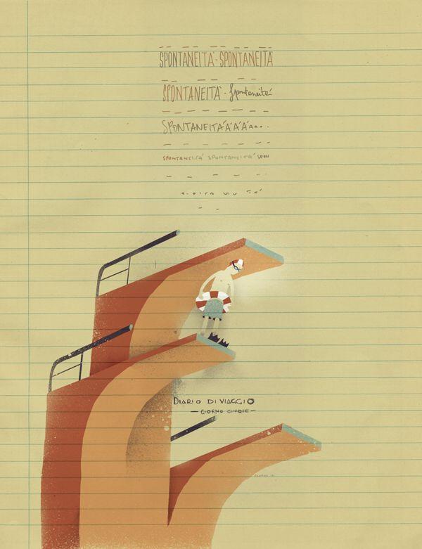 Giorno 5. Diario di Viaggio. #illustration #illustrazione