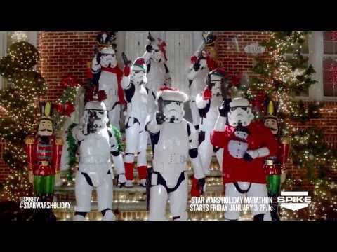 ▶ SPIKE TV STAR WARS HOLIDAY COMMERCIAL - YouTube