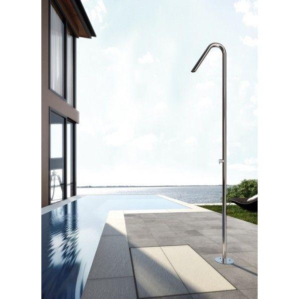 Douche ext rieur inox design twiggy cs40 de fontealta piscine douche piscine douche - Douche de piscine design ...