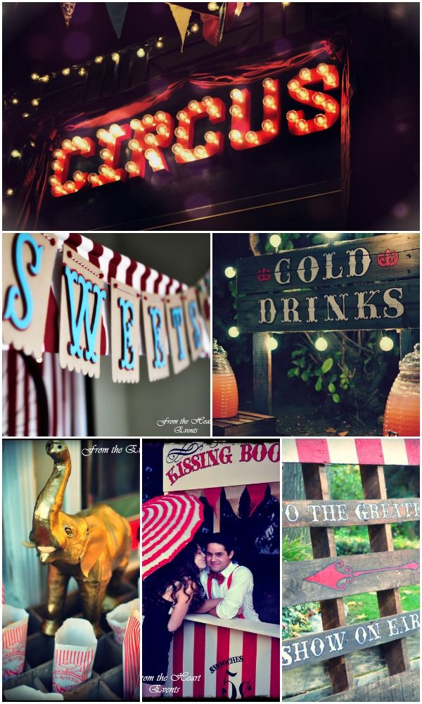 Here are some great party ideas for throwing a circus or carnival birthday party! See the whole Sweet 16 party here at CatchMyParty.com: http://catchmyparty.com/parties/sweet-16-party