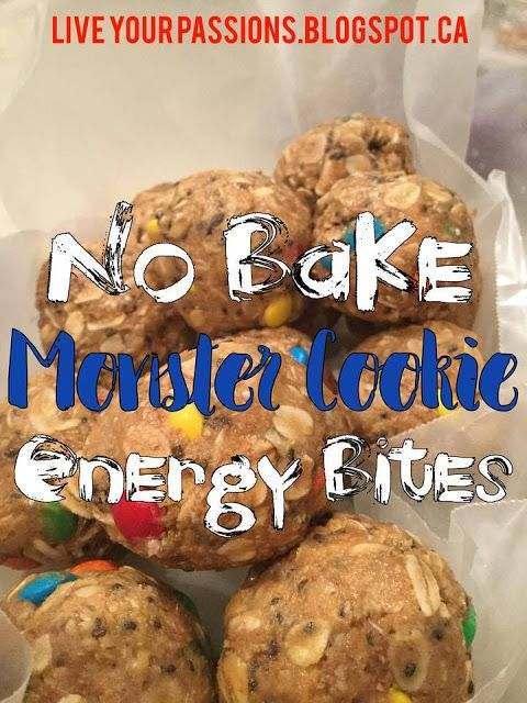 No Bake Monster Cookie Energy Bites, Kids Snacks, Toddler Approved M&M treats, Healthy Snacks