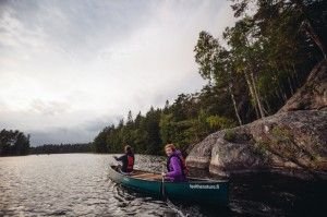 #Canoeing in #Nuuksio National Park