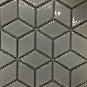 Grey Diamond Mosaics - Products - Surface Gallery #greydiamondmosaics #grey #diamond #mosaics #tiles