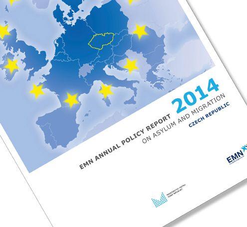 grafický design a sazba výroční zprávy